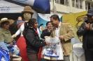 Ministro de Salud entregó el bono JA y el SUPPV en Oruro
